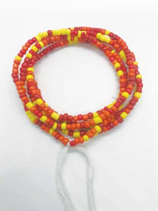African Sunset Waist Beads