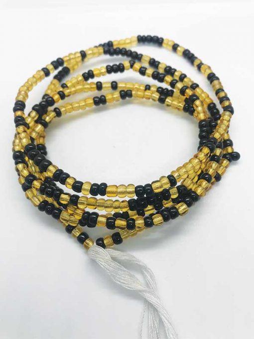 Black Gold Waist Beads