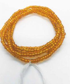 Orange Waist Beads